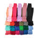 Wholesale girls icing ruffle leggings solid color pants for children wear