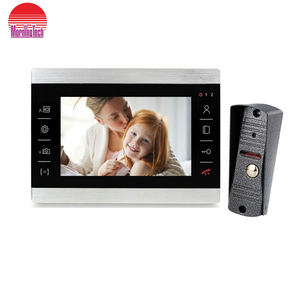 10 inch AHD color video door phone with muti-function interphone security Intercom System
