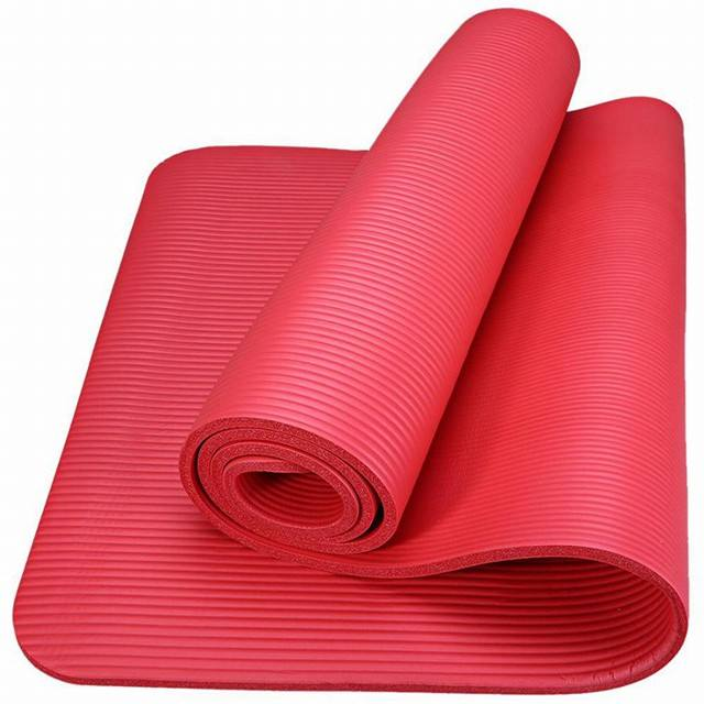 Wholesale Cheap Price Quality Durable NBR Yoga Mat for Yoga/Pilates Fitness Exercise