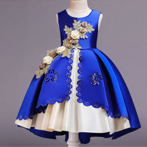wholesale 8 years frocks designs children kids clothing baby girl party dress