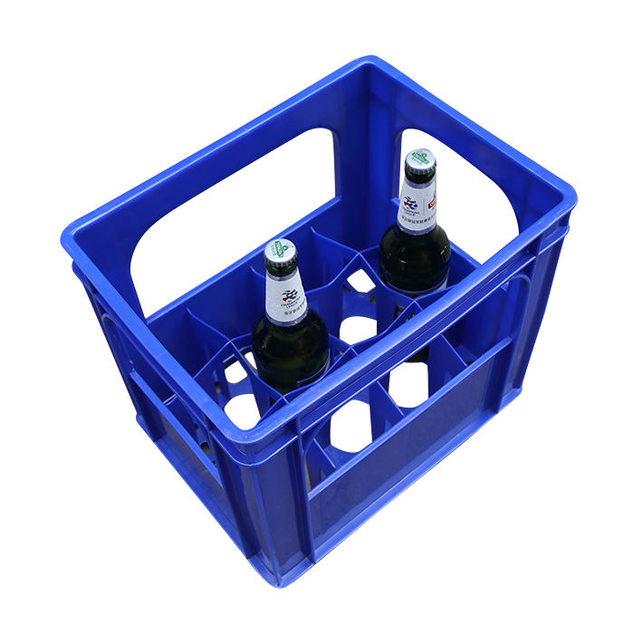 Wine Bottles Crates Beer Crate,plastic Beer Carrier/Holder and Stackable Bottle Crate for sale