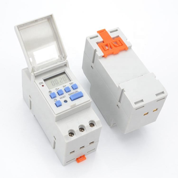 Hot selling Digital Mechanical Timer Switch 24 Hours Module Relay With 1 Change Over Switch 220V Time Switch Manual