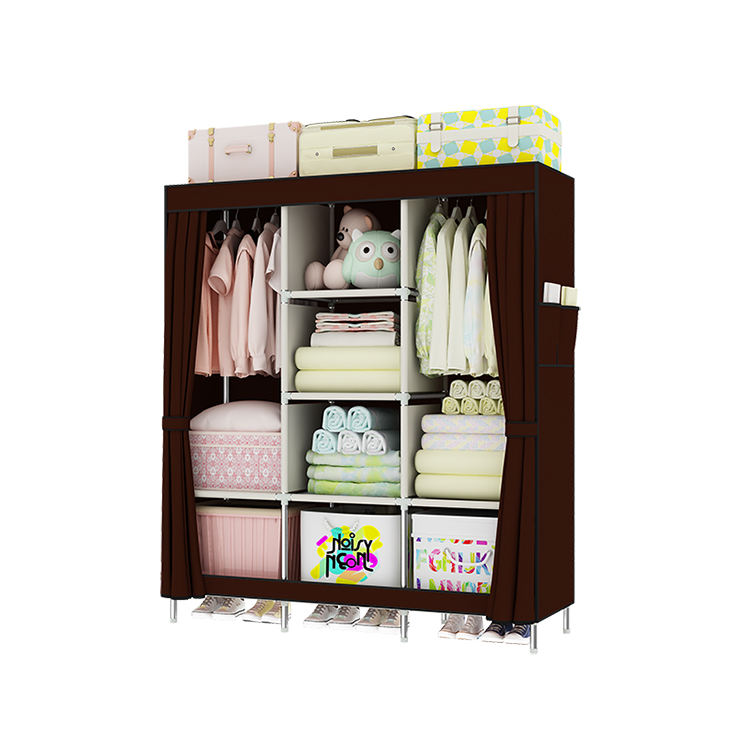 cheap oxford cloth Wholesale price wardrobe for small bedroom closet wardrobe from China
