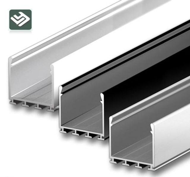 Aluminum Housing Channel Extrusion Strips Heatsink For Aluminium Led Profile