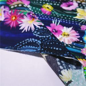 Mango 100% cotton poplin printed fabric cotton poplin floral fabric for clothing  Dress 120/140GSM