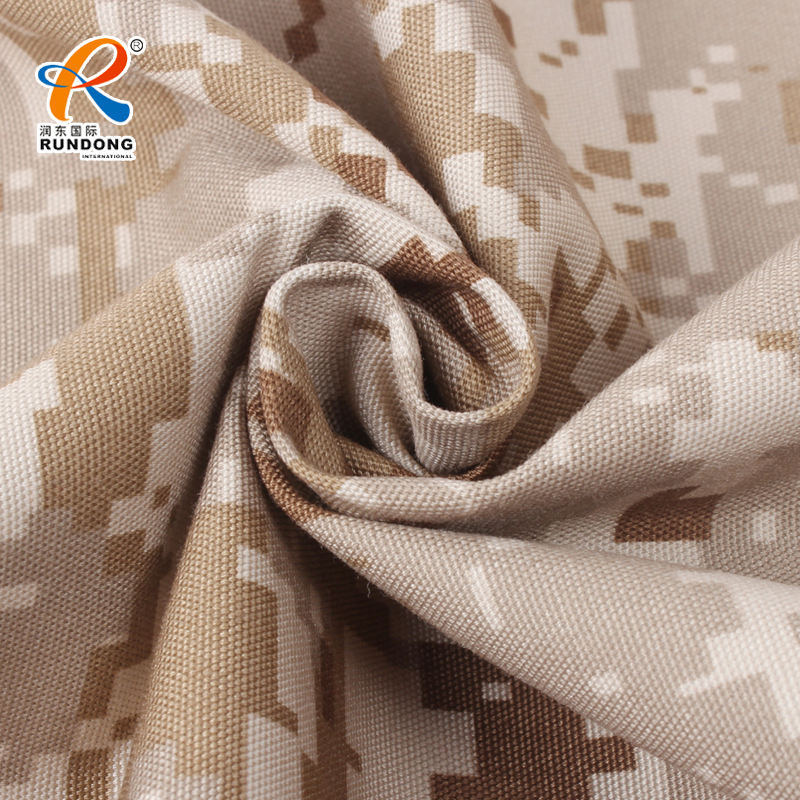 T/C 65/35 Camouflage Military Uniform Fabric