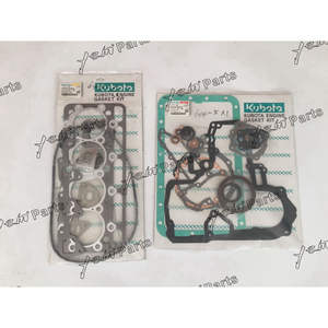 V2203 full/ overhaul/ gasket/ kit/ upper/ lower/ set/ for Kubota excavator KX121-2 KX121-2S diesel loader engine parts