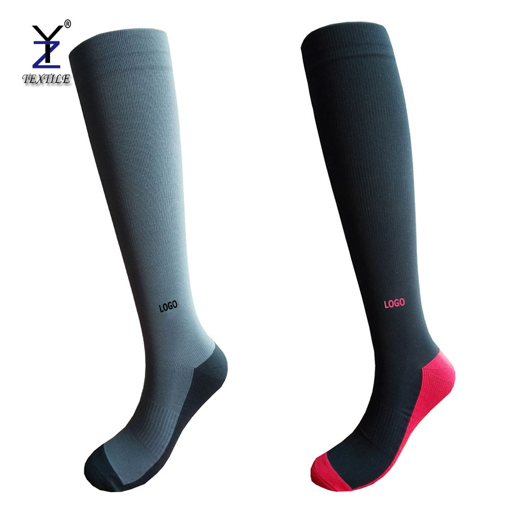 Anti-fatigue women medical blood compression socks in china zhejiang