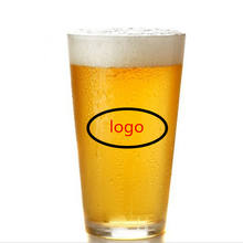 16 oz pint beer glass customize logo beer glass with high quality