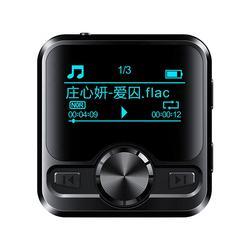 HiFi Lossless Sportz 1.2 Inch Sn Bluetooth MP3 Music Player 16GB Mini Voice Recorder High Quality Support FM Radio,E-Book