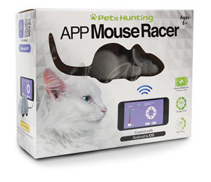 Petstar Smart Remote Control Electrical Mice Interactive Racer Pet Plush Mouse Cat Toy