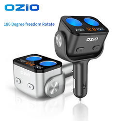 Car Charger Fast Charge Charging Head Factory Direct Sale Car Cigarette Lighter Dual Car Charger Fast Charge