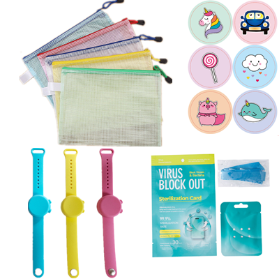 back to school supplies gifts set kids health care items