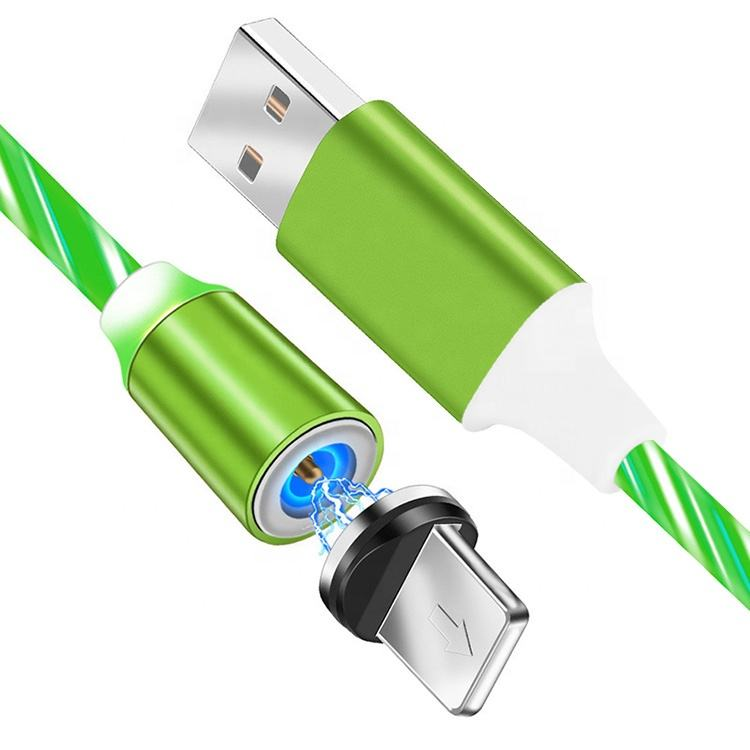 Fast Charging 3 in 1Magnetic Charging Cable Compatible with Mirco USB Type C Iphone Ipad Smartphone Charging Plug Included