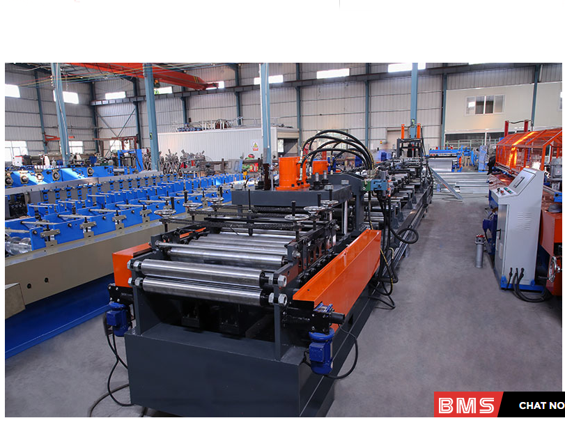 Full Auto Change CZ Purlin Roll Forming Machine
