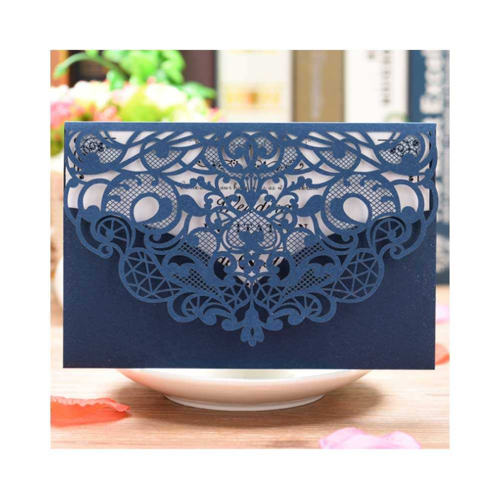 European style laser cut invitations superior quality cards wedding invitations