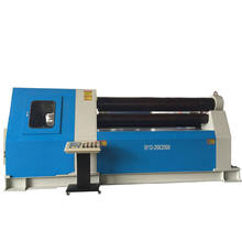 China rich shape bend cnc steel plate rolling machine