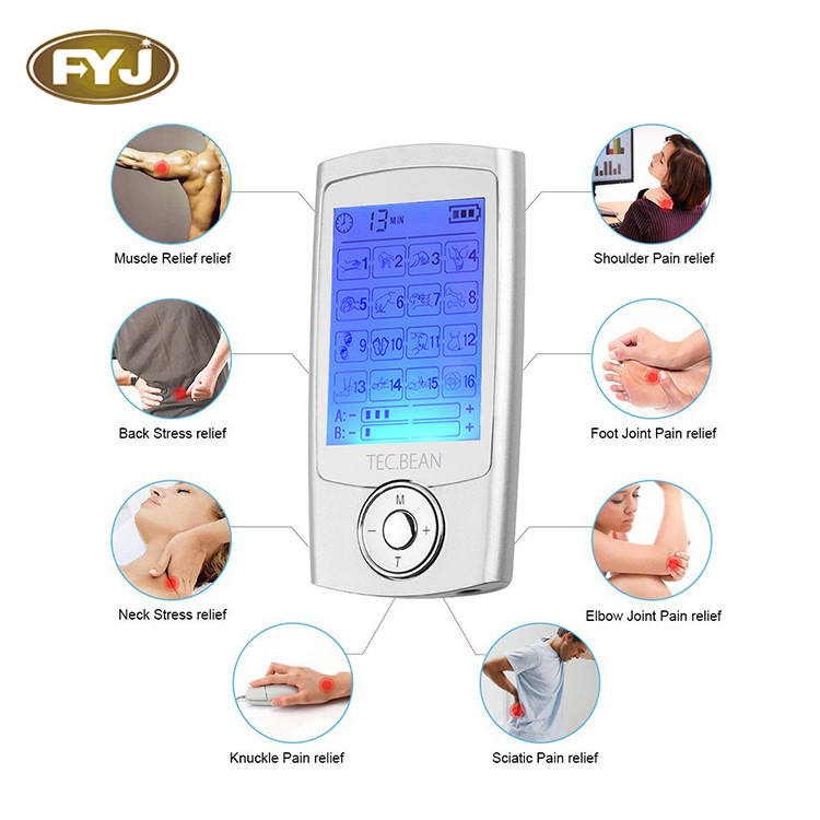 wholesale tens unit heat stimulator simple operayion for home