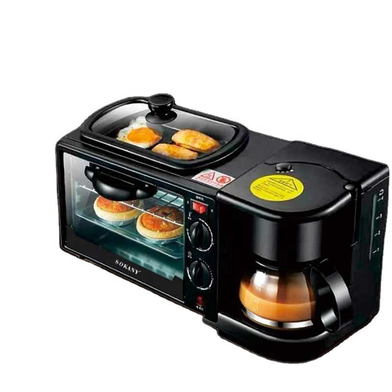 3 in 1 breakfast coffe maker oven breakfast manufacturers breakfast maker