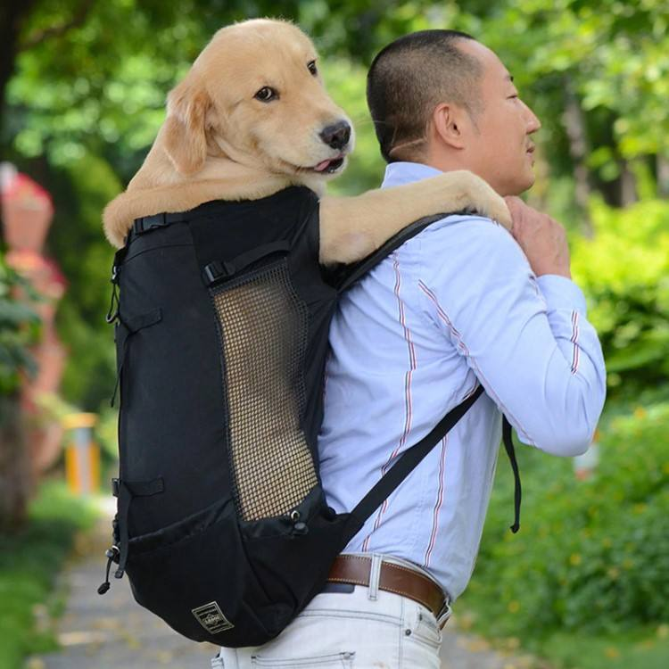 Breathable Pet Dog Carrier Bag for Large Dogs, Comfortable Outdoor Travel Dog Backpack Bag, Big Dog Travel Bags Pets Products