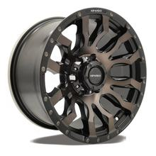 Kipardo RTS 17x9 SUV 4x4 alloy car mag wheels with pcd 6x139.7 6x114.3 5x150 velg offroad wheels