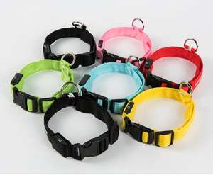 Rechargeable LED leopard-printing pet dog collar