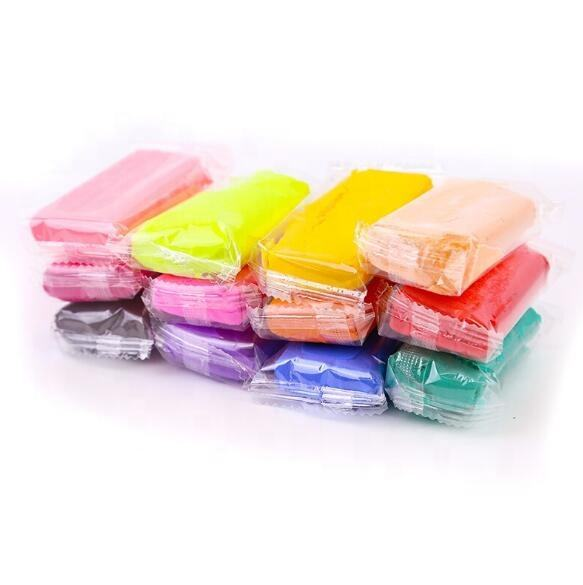 5g candy bag Hot sale 24 colors super light clay for kids air dry clay plasticine