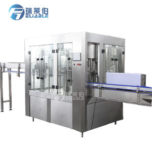 Complete Pure / Mineral Drinking 3-in-1 PET Bottled Water Filling Production Line Beverage Factory