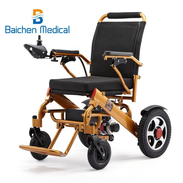 500W motor aluminum alloy lithium battery electric wheelchair wheel chair with FDA approval