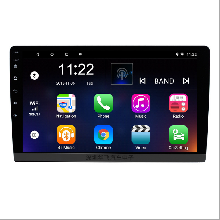 Android System Auto Radio 9 inch Touch Screen Bluetooth Wifi GPS MP5 Musik Player