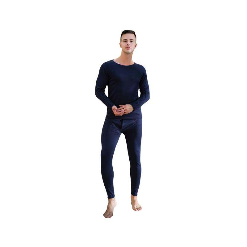 factory wholesale soft long johns men heated thermal underwear for winter
