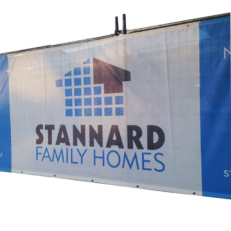 Outdoor Advertising Full Color UV Fence PVC Mesh Banner for Printing