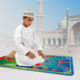 Islamic Child Teaching Learning Educational Electronic Muslim Travel Kids Praying Mat With 7 Languages