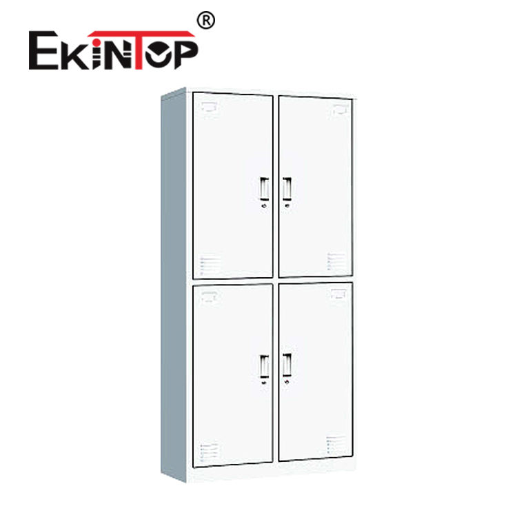 Ekintop automated fireproof 4 door metal steel used coin operated charging lockers for sale