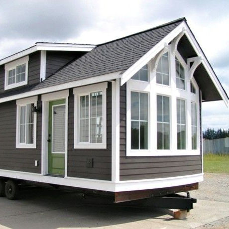 Prefab Portable tiny house on wheels
