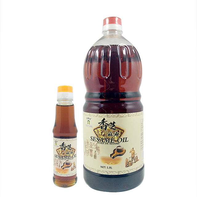 HACCP Free Sample Chinese Natural Dressing Oil Blended Sesame Seed Oil