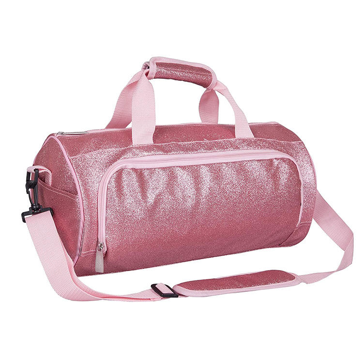 EB0218 <span class=keywords><strong>Nuit</strong></span> Duffle <span class=keywords><strong>Sacs</strong></span> De Danse pour Filles <span class=keywords><strong>Enfants</strong></span> Rose Bling Paillettes Sac De Sport