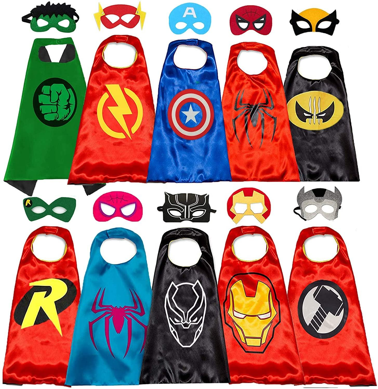 Cape de super-héros en vogue Amazon, Costume Cosplay pour enfants, OEM, nouvelle collection