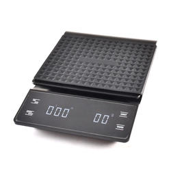 Digital Coffee Scale with Timer Setting for Pour Over Coffee Brewing Kitchen Electronic Scale for Coffee or Baking