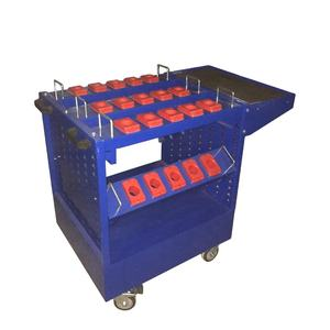 Industrial trolley tool set Cutting Tools Cabinet with wheel