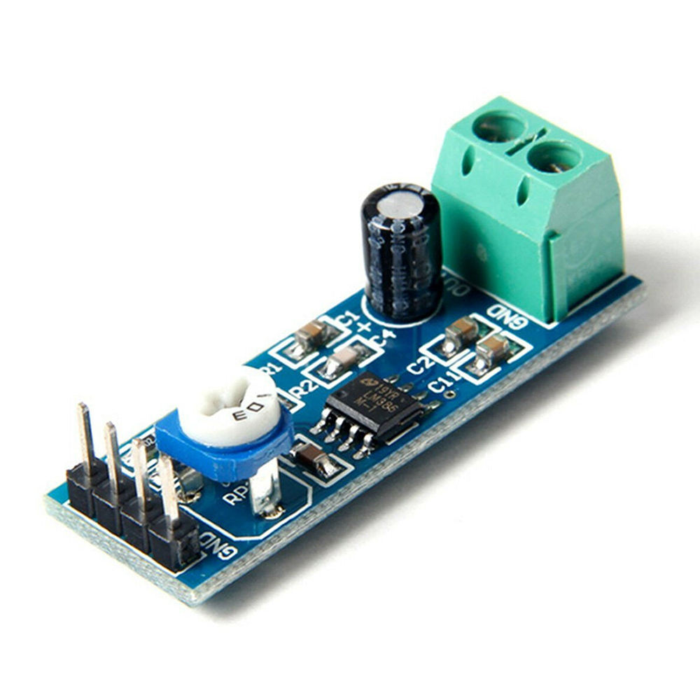 Free Shipping Green Audio Power Amplifier Module LM386 Amplifier For Arduino