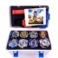 Metal battle burst Storage box set B85 B79 B82 B48 B34 B66 B73 B97 Spinning top with launcher