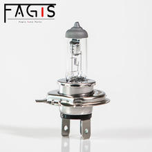 Fagis 60/55w p43t car lamp headlight xenon auto halogen bulb h4 12v