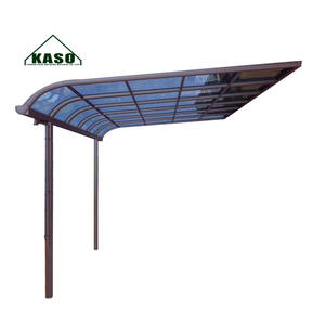 Outdoor Garden Free Standing Waterproof Aluminum Canopy Roof Polycarbonate Balcony Patio Cover