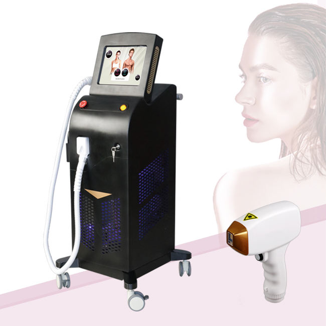 laser soprano titanium ice platinum triple trio laser 755 810 1064 nm alma diode 808nm hair removal beauty machine