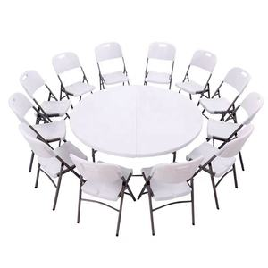 round table top round folding table for wedding event and banquet