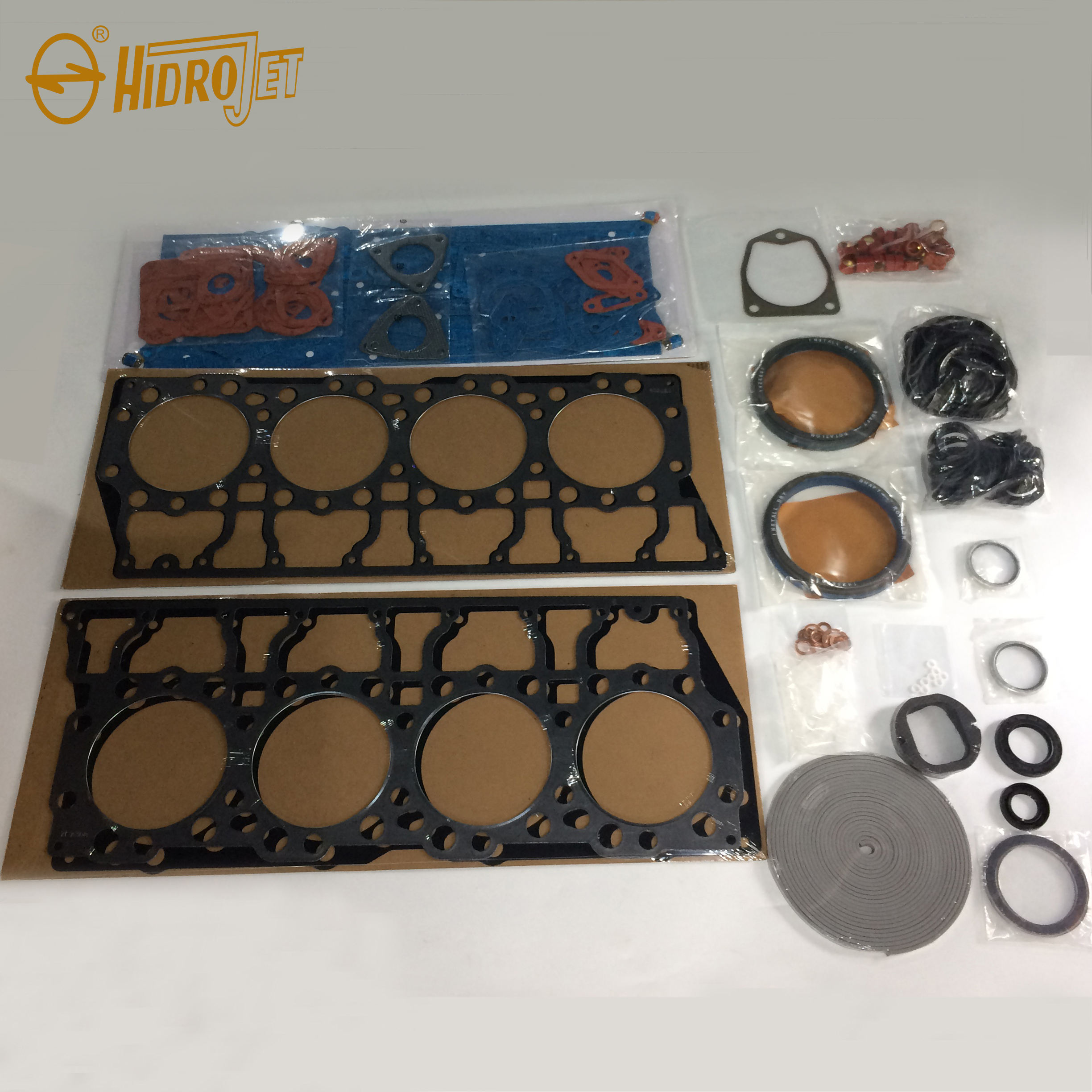 High quality complete gasket kit full overhaul cylinder head gasket repair kit for 3408 diesel engine