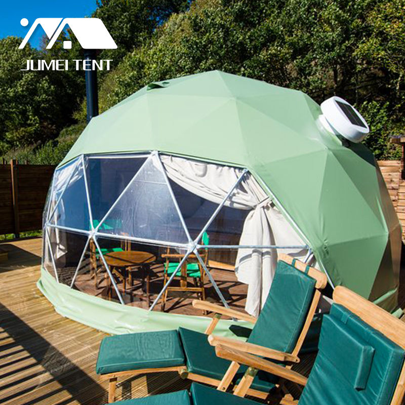 30 m2 Outdoor Prefab Resort House Camping Big Geodesic Dome Tent