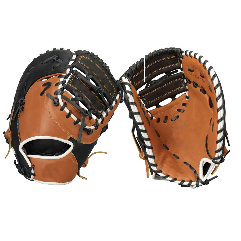 first base mitt cowhide leather cheap price youth baseball gloves