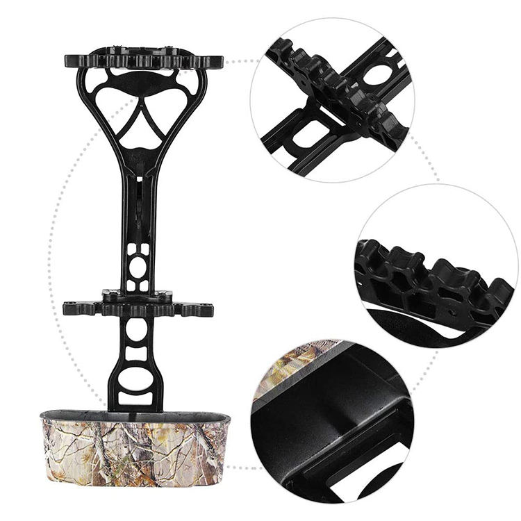 6 Arrows Archery Arrow Quiver Compound Bow Archery Accessories for Shooting & Hunting